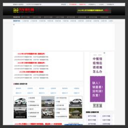 中国汽车销量排行